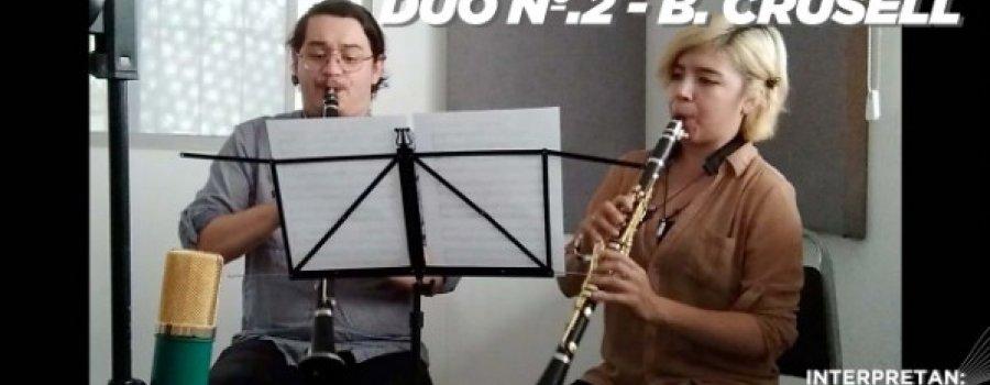 L. V. Beethoven - Dúo Nº.1 Op. 27 (1er mov) / B. Crusell - Dúo Nº.2, para dos