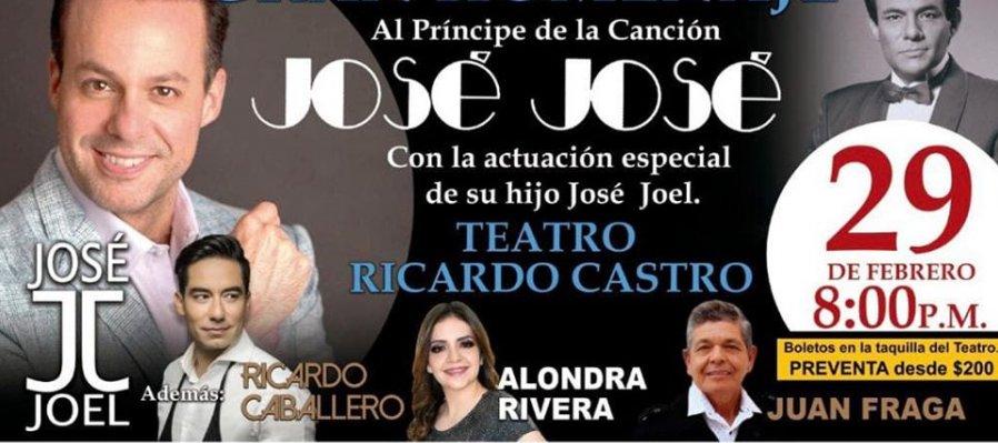 Gran homenaje al príncipe de la canción: José José