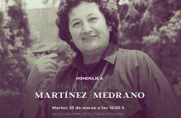 Homenaje póstumo a la maestra María Alicia Martínez Me...