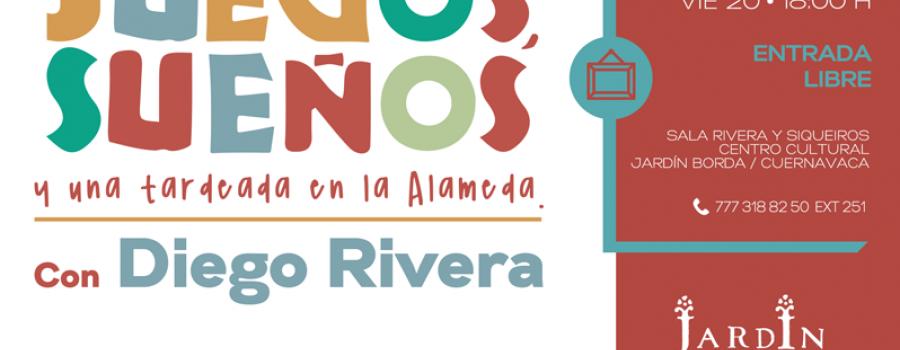 Juegos, sueños y una tardeada en la alameda con Diego Rivera