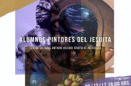 Exposición colectiva de alumnos pintores del jesuita