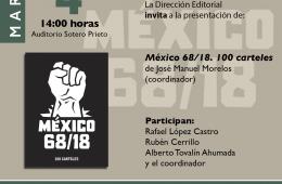 México 68/18. 100 carteles