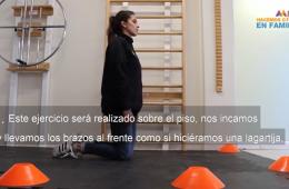 Activación física: abdominales isométricos