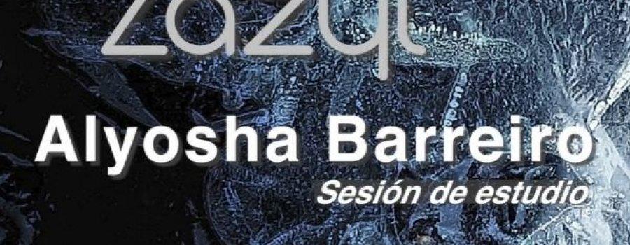 Alyosha Barreiro, sesión de estudio