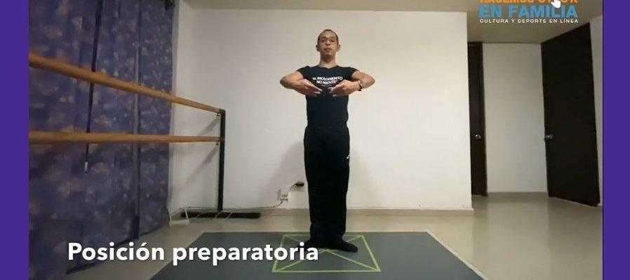 Posiciones básicas de ballet: pies y brazos