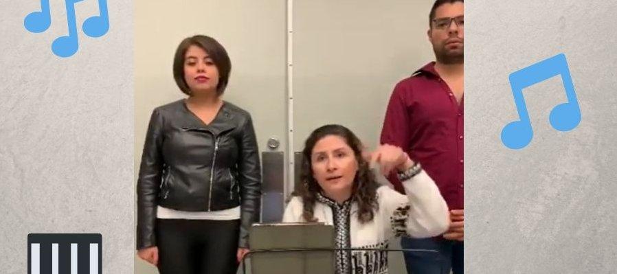 Práctica de canto desde casa