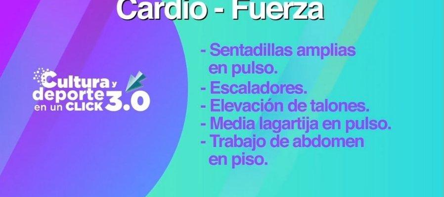 Entrenamiento: Cardio - Fuerza