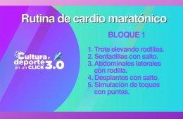 Activación física: Cardio maratónico