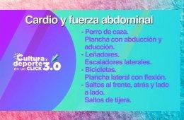 Activación física: cardio y fuerza abdominal 2