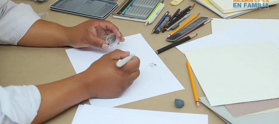 Taller de dibujo con Juan Luis Rita