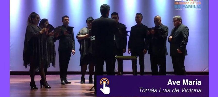 Concierto Divertimento parte 2, Octeto Vocal
