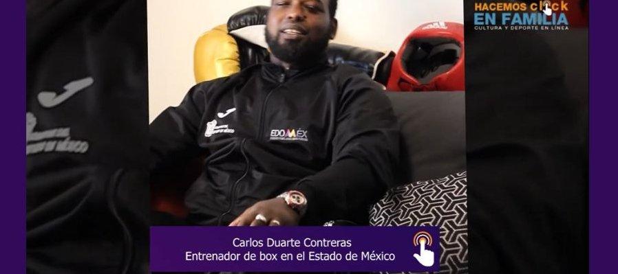 Entrenando con Carlos Duarte Contreras