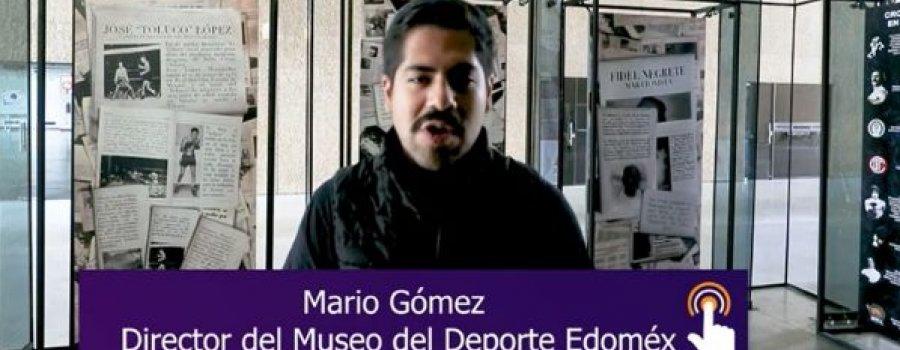Recorrido virtual por el Museo del Deporte Edoméx
