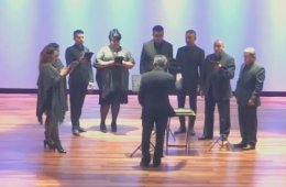 Concierto Divertimento sexta parte, Octeto Vocal