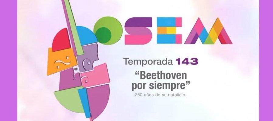 Orquesta Sinfónica del Estado de México, Programa 2, Temporada 143