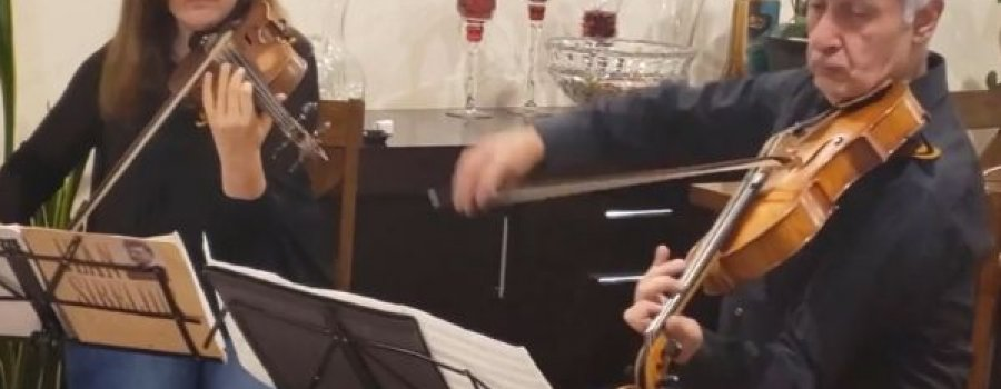 Ciclo Grandes instrumentistas de la OSEM: Nune Tshavrshyan y Armen Aghabekyan