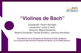 Violines de Bach, Compañía de Danza del Estado de Méxi...