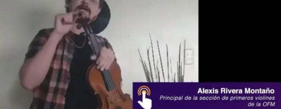 Ciclo Conoce a la Orquesta Filarmónica Mexiquense: Alexis Rivera