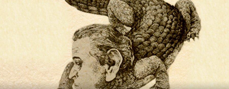 Efraín Huerta, el gran cocodrilo