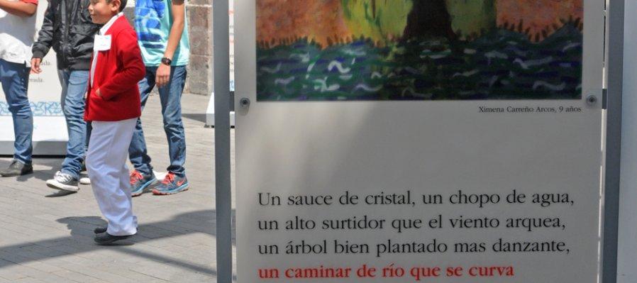 El árbol habla, Octavio Paz para niños. Ilustraciones
