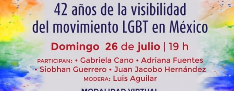 El arcoíris se hizo luz. 42 años de la visibilidad del movimiento LGBT en México