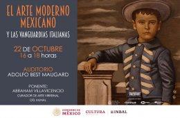 El arte moderno mexicano y las vanguardias italianas