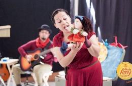 El día de Amy, teatro y música para bebés