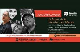 Conversatorio: El futuro de la literatura en México