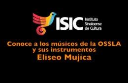 Eliseo Mujica, de segundo violines de la OSSLA con extrac...
