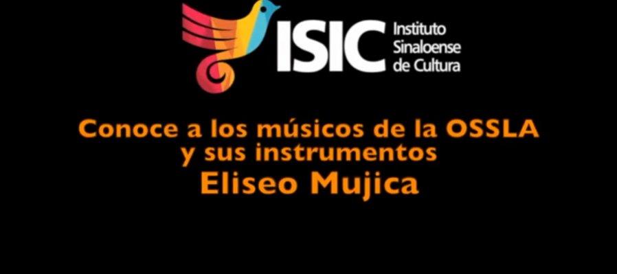Eliseo Mujica, de segundo violines de la OSSLA con extracto de la Danza Bacanal