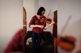 Allemande de la Partita no 2 de Bach