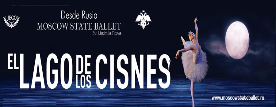 El Lago de los Cisnes por el Moscow State Ballet