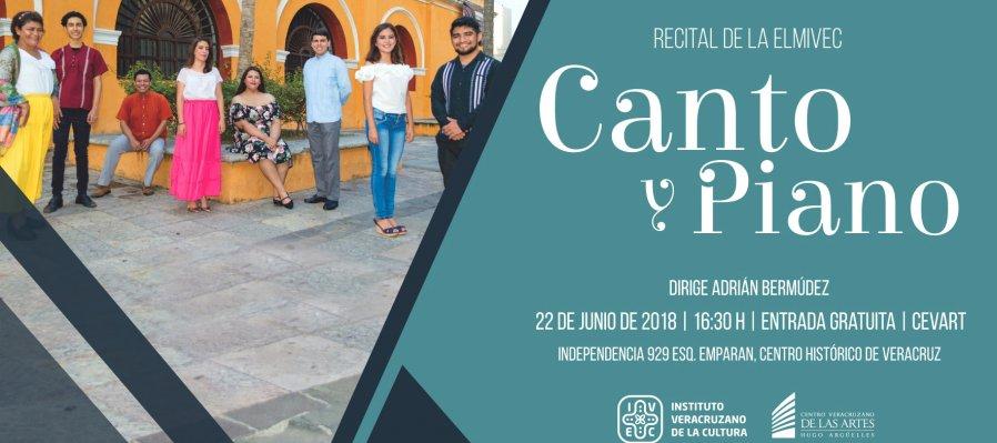 Recital de piano y canto ELMIVEC