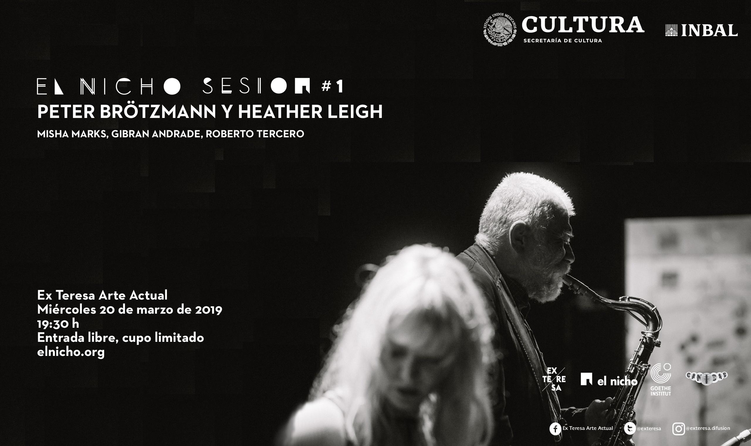 El nicho sesión #1 Peter Brötzmann & Heather Leigh Rid...