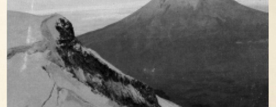7 de diciembre de 1917: Temor por la erupción del Popocatépetl