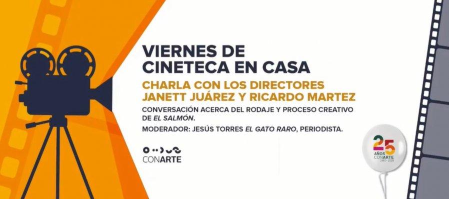 Charla con los directores: Janett Juárez y Ricardo Serna