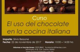 El uso del chocolate en la cocina italiana
