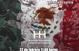 Emblemas Mexicanos: técnica-acuarela