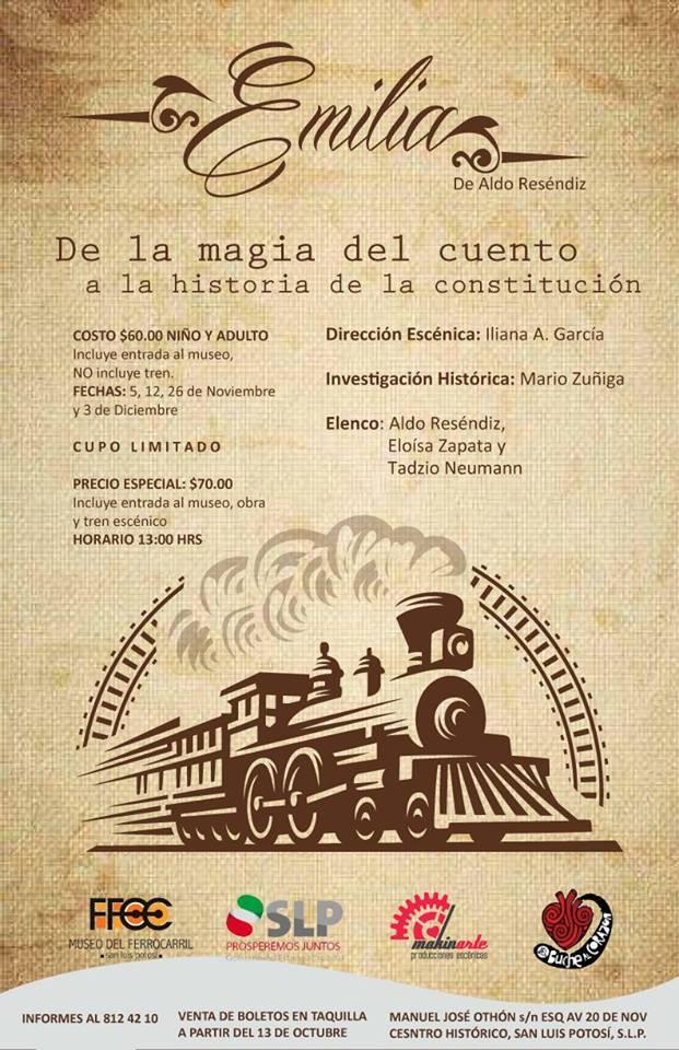 Emilia de la Magia del Cuento a la Historia de la Constitución| SLP