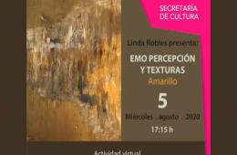Emo percepción y texturas Linda Robles: Amarillo