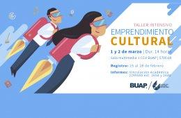 Taller intensivo Emprendimiento Cultural