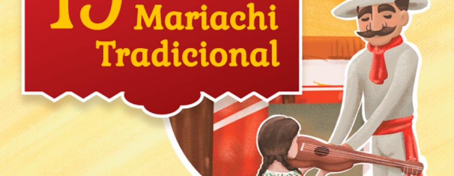 Presentación de mariachis tradicionales, parte 1