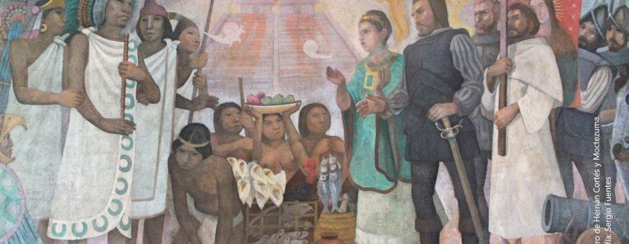Escenarios de la Conquista, a 500 años de la entrada de Hernán Cortés. Centro Histórico, Ciudad de México