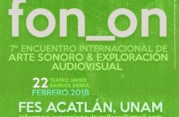 7º Encuentro Internacional de Arte Sonoro y Exploración...