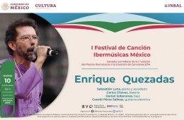 Festival de Canción Ibermúsicas México. Enrique Quezad...