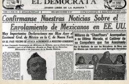 13 de noviembre de 1917: Continúa el enrolamiento de mex...