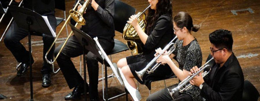 Recital del Ensamble de Metales de la Orquesta Escuela Carlos Chávez
