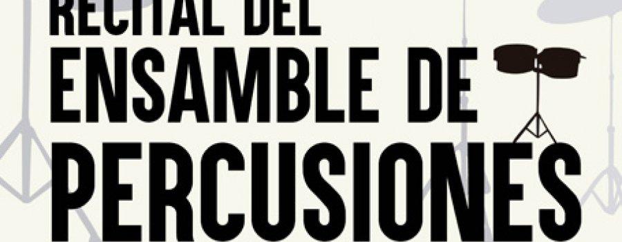 Recital del Ensamble de Percusiones de la Orquesta Escuela Carlos Chávez