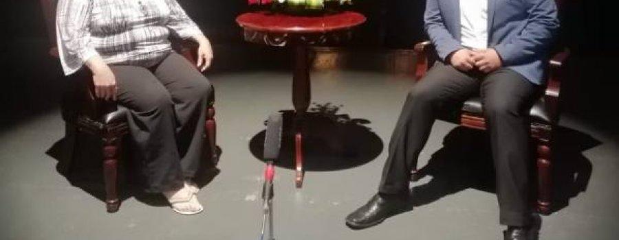 A Telón Abierto con Carlos Juárez. Entrevista a Fátima del Rosario