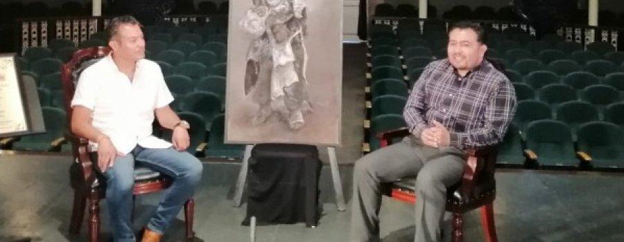 A Telón Abierto con Carlos Juárez, entrevista a Victor Hugo Galván